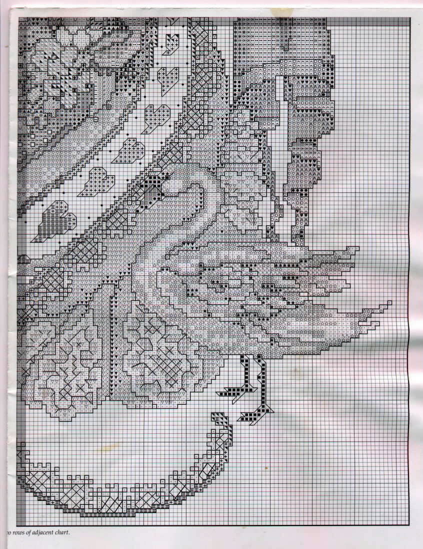 Романтика схема вышивки 47