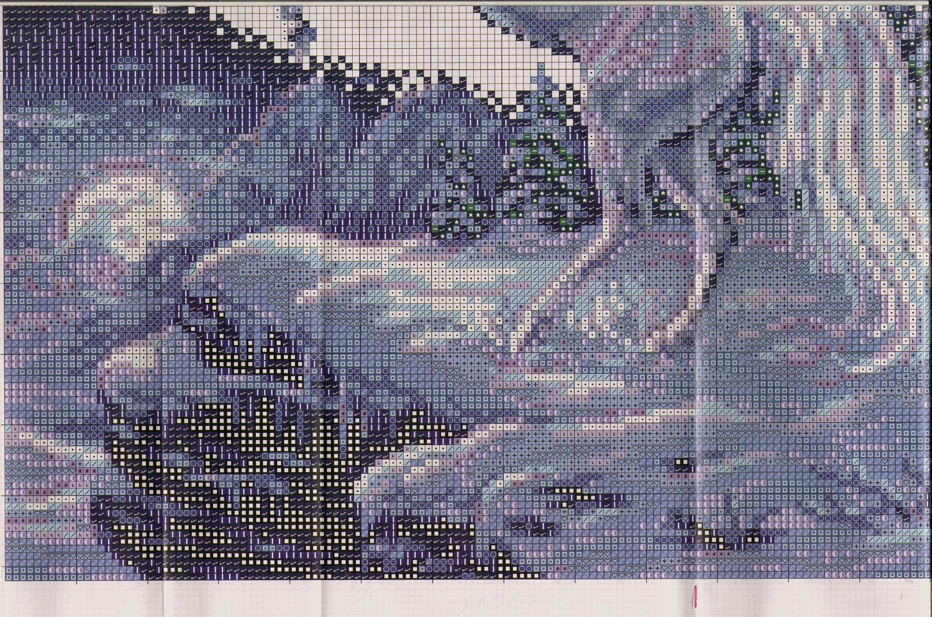Единорог » Схемы вышивки крестом, крестиком » Вышивка 25