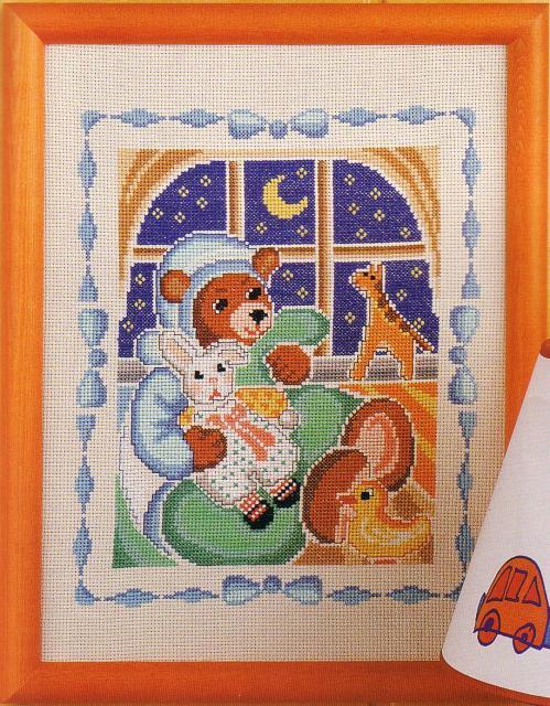 Схема вышивания крестом - Игрушки