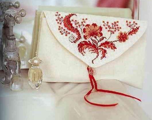 Схема вышивания крестом - Орнамент для сумки