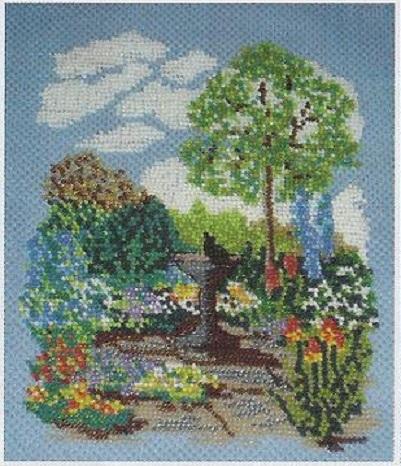 Схема вышивания бисером - Пейзаж
