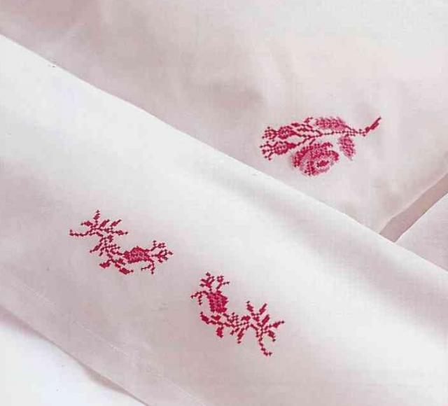 Схема вышивания крестом - Орнамент Розы