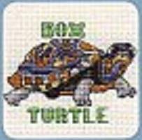 Схема вышивания крестом - Черепаха