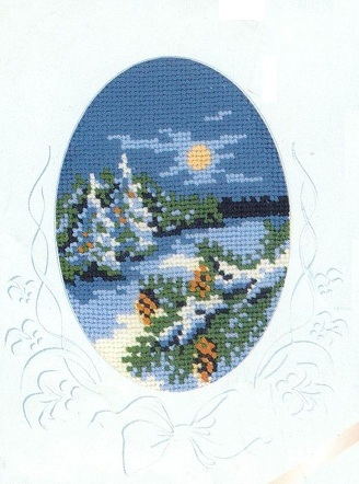 Схема вышивания крестом