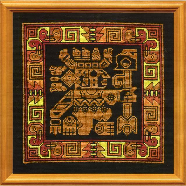 Схема вышивания крестом -