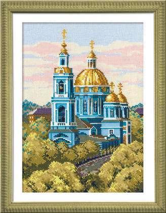 Схема вышивания крестом - Елоховская церковь