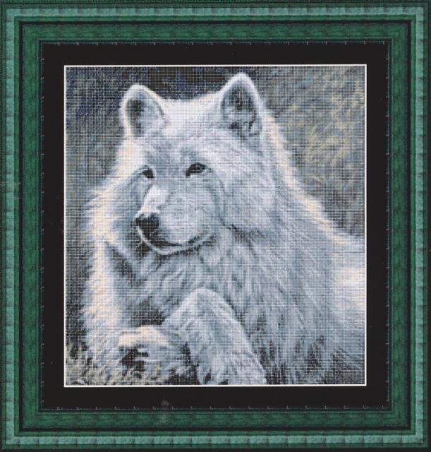 Вышивка kustom krafts волк