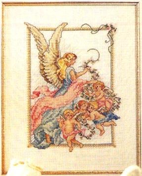 Схема вышивания крестом - Ангелы | Схемы и Узоры: http://www.uzorz.ru/uzorz/node/1645