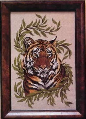 крестом - Бенгальский тигр