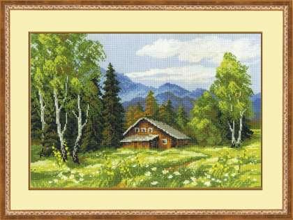 Пейзажи. Схема вышивания