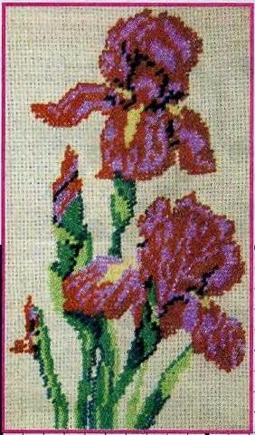 Схема вышивания бисером