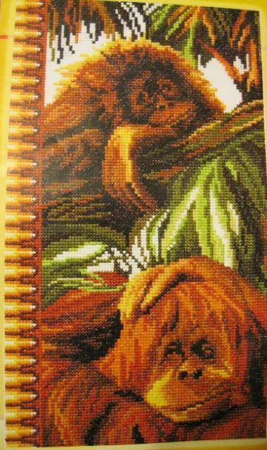 Вышивка обезьянки золотое руно отзывы 15