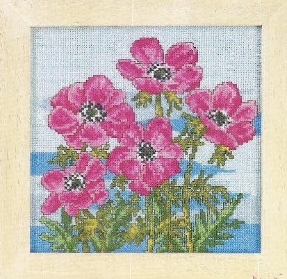 Схема вышивания крестом - Цветы
