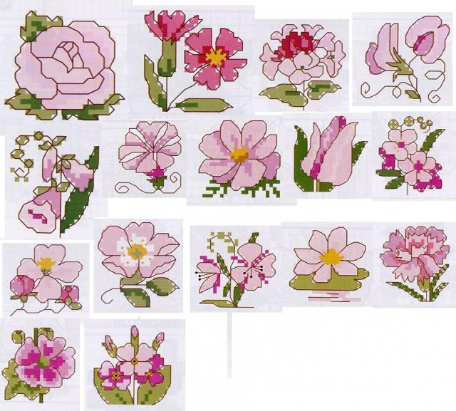 Цветы в корзине - изображение