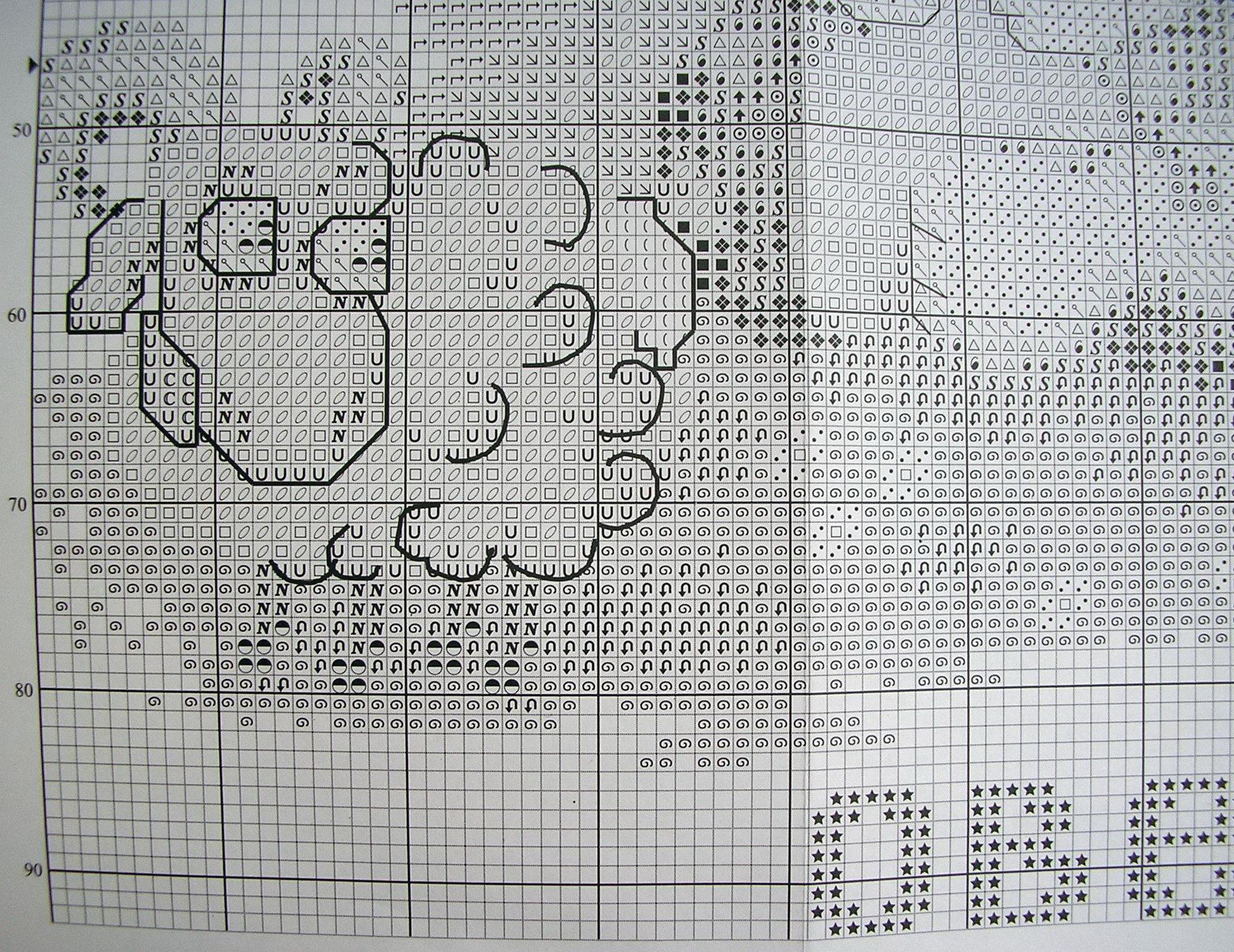 Вышивка крестиком схемы знаки зодиака овен 86