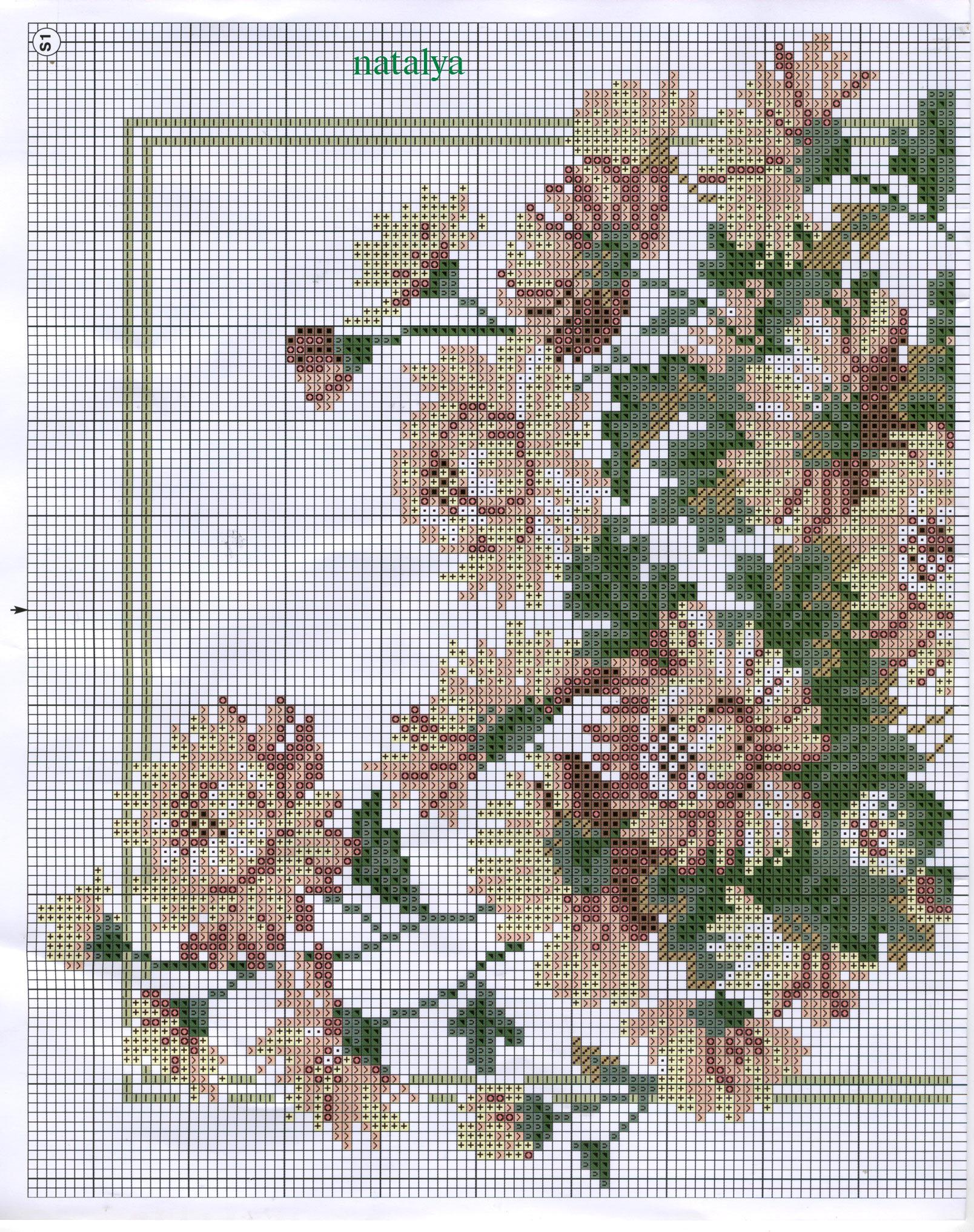 Схемы вышивки бисером хризантемы 66