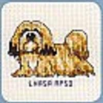 Схема вышивания крестом - Лхаса апсо
