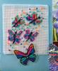 """Схема вышивания крестом - Открытка """"Бабочки"""""""